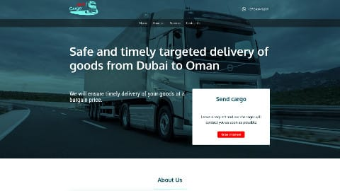 Safe and timely targeted delivery of goods from Dubai to Oman